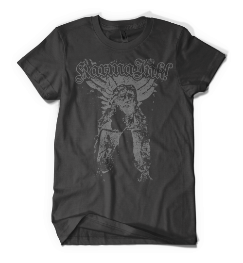 Karma Ink! - Goth Angel T-shirt